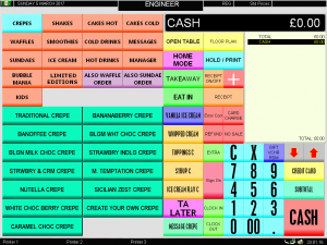 ICR Touchpoint epos software - kepos systems